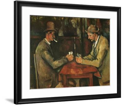The Card Players-Paul C?zanne-Framed Preframe Component - Art