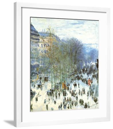 Boulevard des Capucines-Claude Monet-Framed Preframe Component - Art