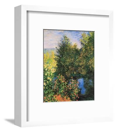 Corner of the Garden at Montgeron-Claude Monet-Framed Preframe Component - Art