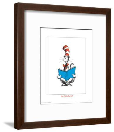 Seuss Treasures Collection III - The Cat in the Hat (white)-Theodor (Dr. Seuss) Geisel-Framed Art Print