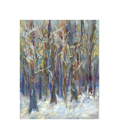 Winter Angels in the Aspen-Amy Dixon-Framed Giclee Print