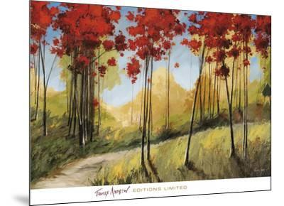 Forest Trail-Thomas Andrew-Mounted Art Print