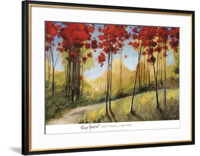 Forest Trail-Thomas Andrew-Framed Art Print