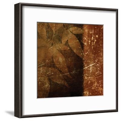 Spice Leaves 1D-Kristin Emery-Framed Art Print
