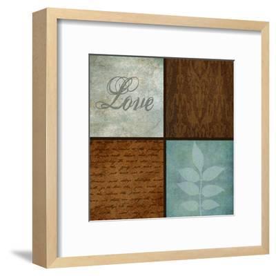 Patterns And Ferns 4 Pack 1-Kristin Emery-Framed Art Print
