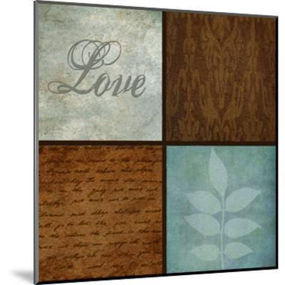 Patterns And Ferns 4 Pack 1-Kristin Emery-Mounted Art Print