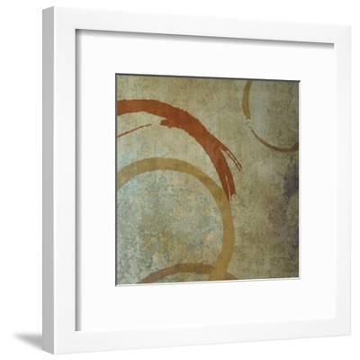 Vintage Circles 2-Kristin Emery-Framed Art Print