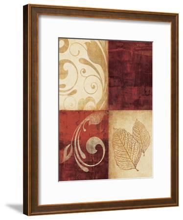 Red Decor By 4-Kristin Emery-Framed Art Print