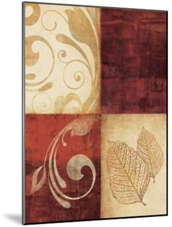 Red Decor By 4-Kristin Emery-Mounted Art Print