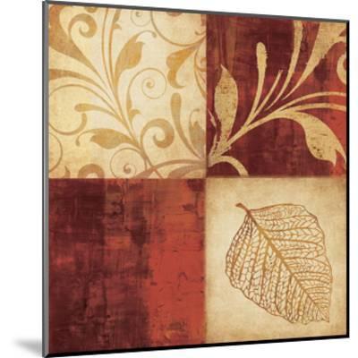 Red Gold 4PK-Kristin Emery-Mounted Art Print