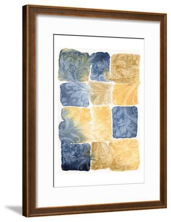 Water Color Blocks-Kristin Emery-Framed Art Print