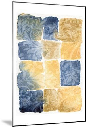 Water Color Blocks-Kristin Emery-Mounted Art Print