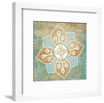 Retro Flower 1-Kristin Emery-Framed Art Print