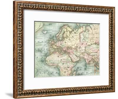 World Map 5-Ophelia & Co^-Framed Art Print