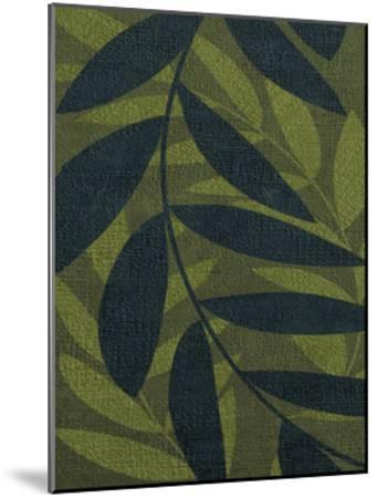 GREEN LEAVES 2-Kristin Emery-Mounted Art Print