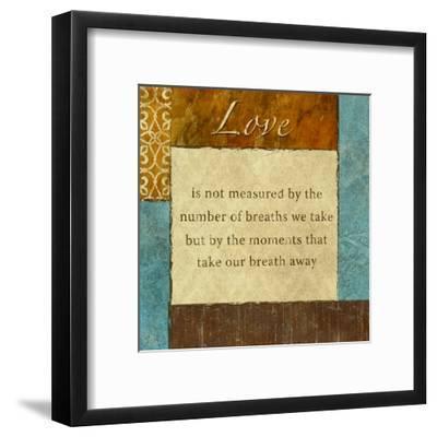 Love-Kristin Emery-Framed Art Print
