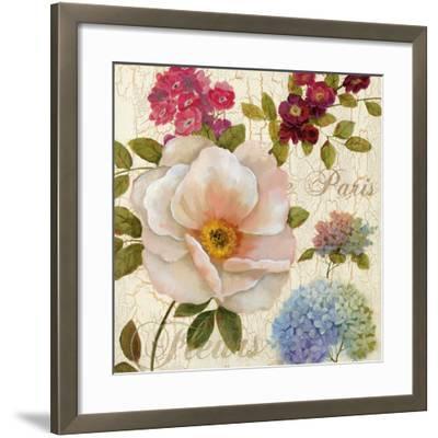 Paris Fleurs-Nan-Framed Art Print