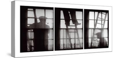 The Window Cleaners-Keith Cardwell-Stretched Canvas Print