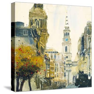 St. Martin's Lane, London-Susan Brown-Stretched Canvas Print