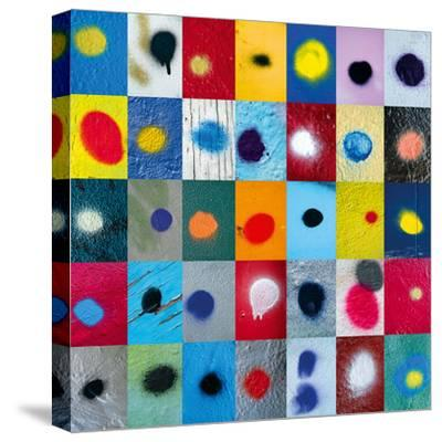 Spot the Difference-Sharon Elphick-Stretched Canvas Print