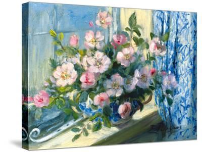 Wild Roses-Elizabeth Parsons-Stretched Canvas Print