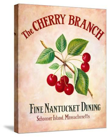 The Cherry Branch-Isiah and Benjamin Lane-Stretched Canvas Print