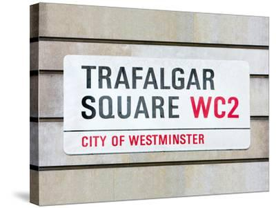 Trafalgar Square-Joseph Eta-Stretched Canvas Print