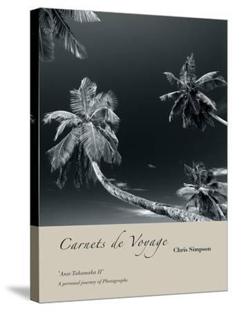 Anse Takamaka II-Chris Simpson-Stretched Canvas Print