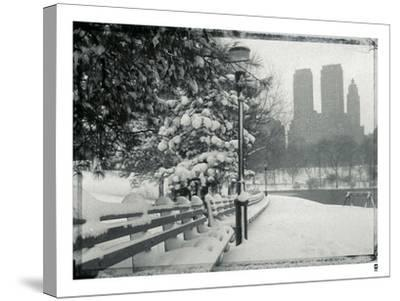 New York City In Winter VIII-British Pathe-Stretched Canvas Print