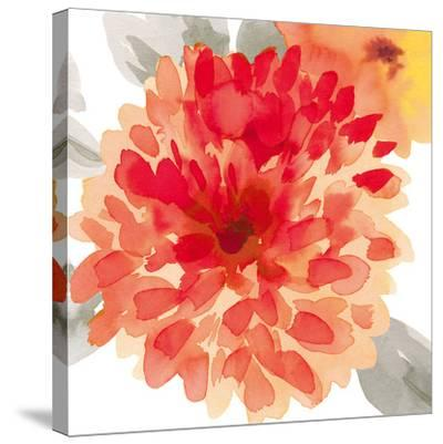 Peach Flower I-Sandra Jacobs-Stretched Canvas Print