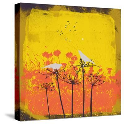 Away From The Flock I-Ken Hurd-Stretched Canvas Print