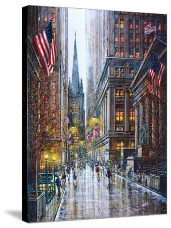 Wall Street-Guy Dessapt-Stretched Canvas Print