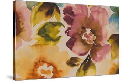 Floral Fusion III-Tanuki-Stretched Canvas Print