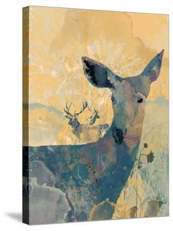 Deerhood I-Ken Hurd-Stretched Canvas Print