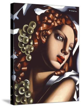The Brilliance-Tamara de Lempicka-Stretched Canvas Print