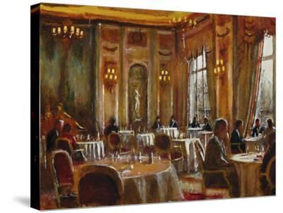 Afternoon at The Ritz-Clive McCartney-Stretched Canvas Print