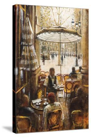Inside and Outside, Palais Royal-Clive McCartney-Stretched Canvas Print