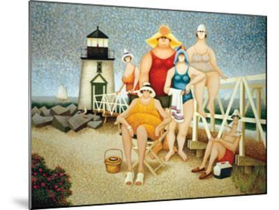 Beach Vacation-Lowell Herrero-Mounted Art Print