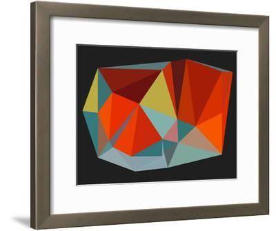 Triangulations n.6, 2013-Henri Boissiere-Framed Serigraph