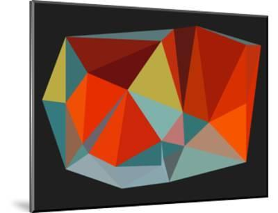 Triangulations n.6, 2013-Henri Boissiere-Mounted Serigraph