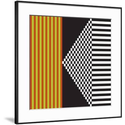 Variazione N°23, 2012-Ernesto Riga-Framed Serigraph
