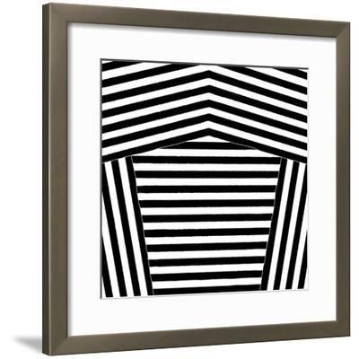 Black and White Collection N° 75, 2012-Allan Stevens-Framed Serigraph