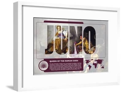 Juno Mythology Poster-Christopher Rice-Framed Art Print