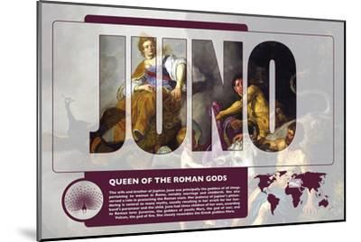 Juno Mythology Poster-Christopher Rice-Mounted Art Print