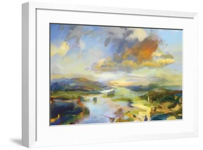 Frosted Sonoma-Jeffrey Beauchamp-Framed Giclee Print