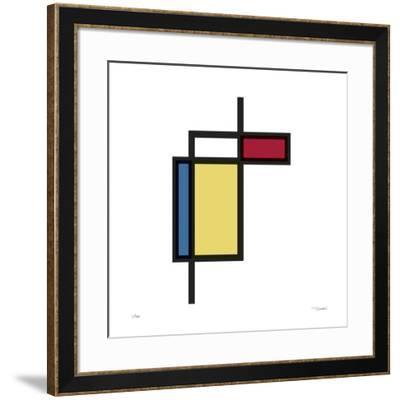 Daily Geometry 187-Tilman Zitzmann-Framed Giclee Print