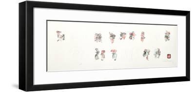 Figure Studies II-Lebadang-Framed Collectable Print