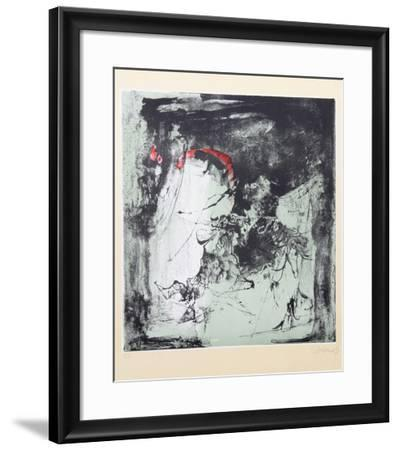 Fighting Horses-Lebadang-Framed Collectable Print