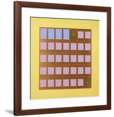 Seasons 1-Arthur Boden-Framed Limited Edition