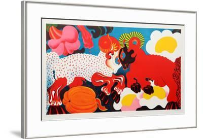 Rams-Nicolas Uriburu-Framed Collectable Print